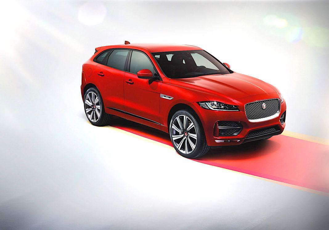 Jaguar F-Pace - przód