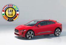 Jaguar I-Pace - Samochód Roku 2019 w Europie