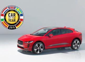 Jaguar I-Pace Samochodem Roku 2019