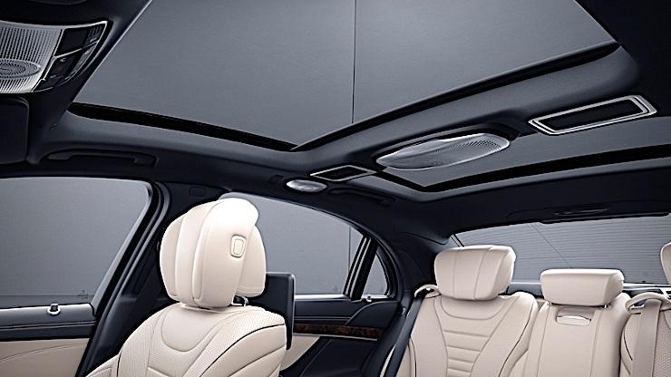 Mercedes-Maybach - dach Magic Sky Control