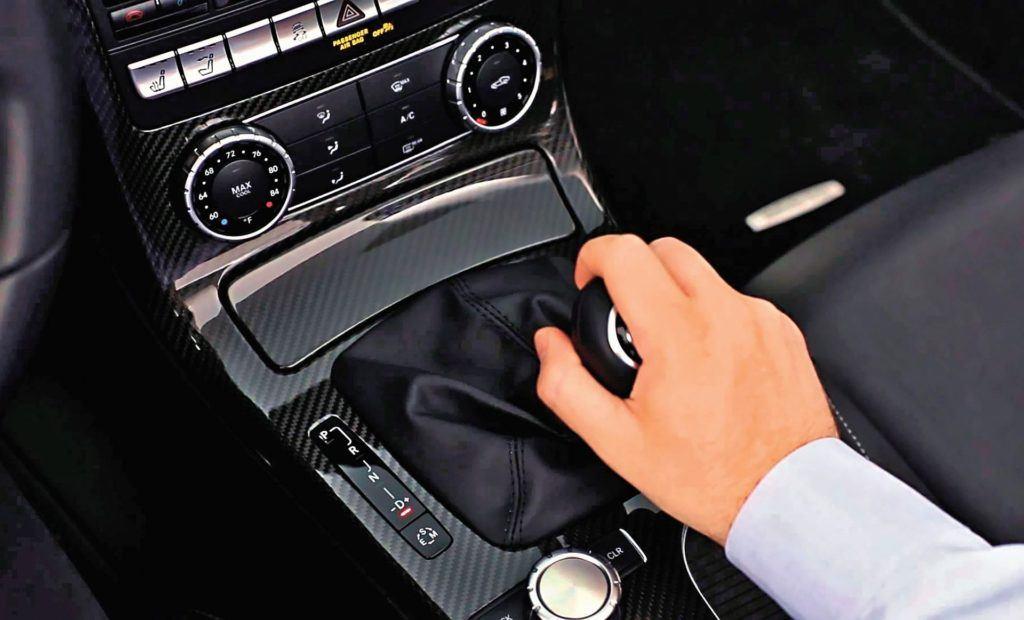 Mercedes - skrzynia biegów