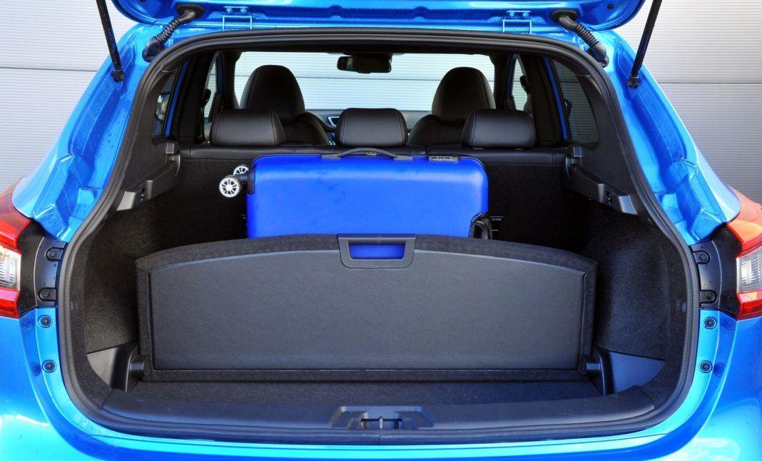 Nissan Qashqai 1.3 DIG-T - bagażnik