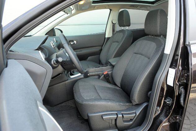 Nissan Qashqai I fotel kierowcy