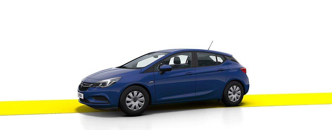 Opel Astra - bok