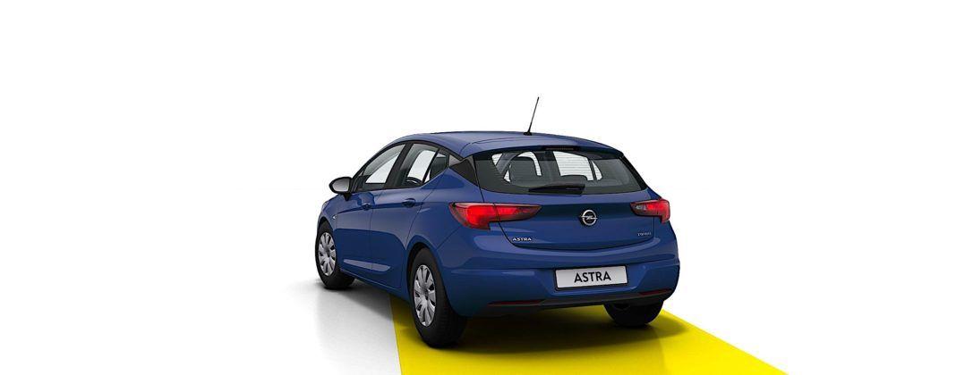 Opel Astra - tył