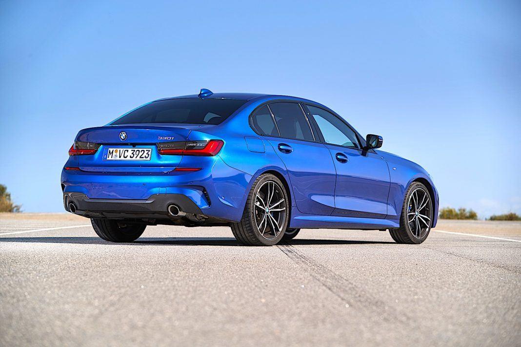 2019 BMW serii 3 - tył