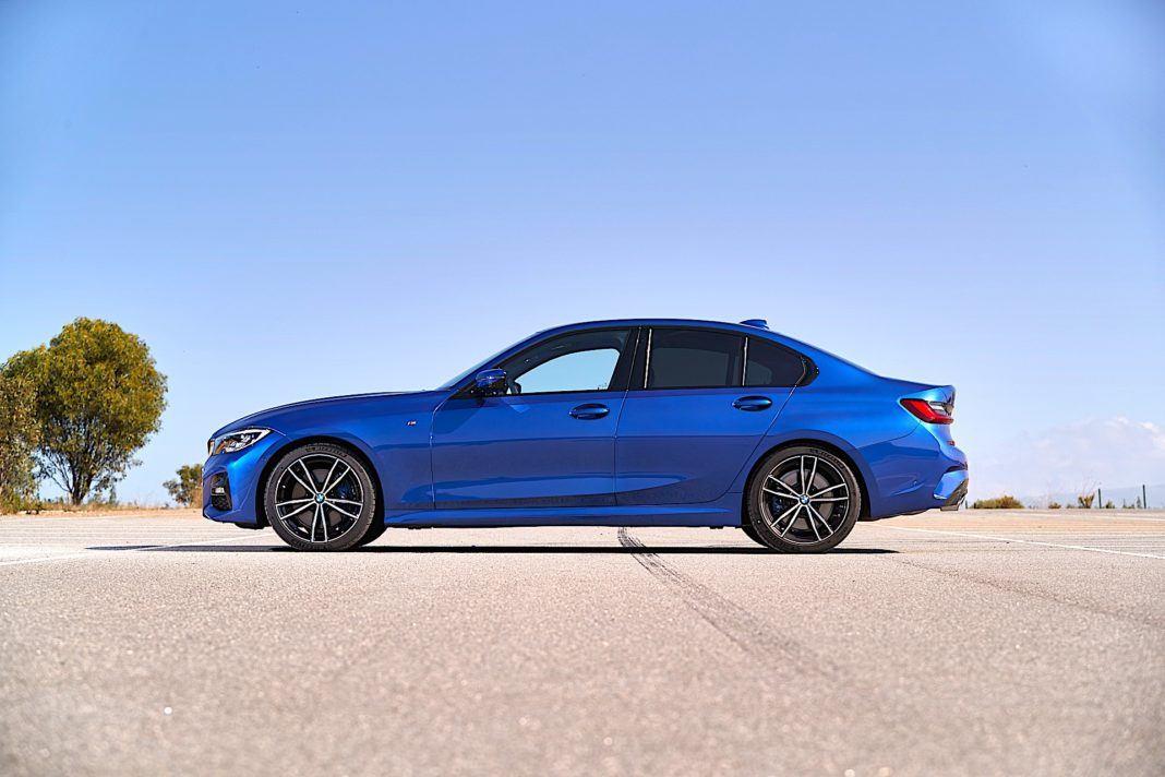 2019 BMW serii 3 - bok