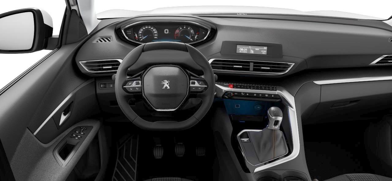 Peugeot 3008 - kokpit