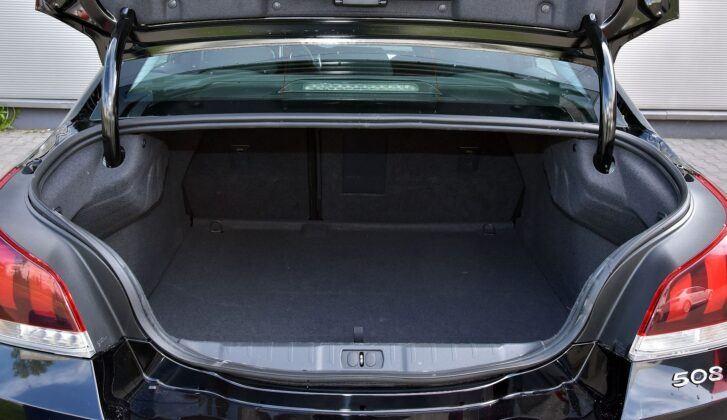 Peugeot 508 I bagażnik