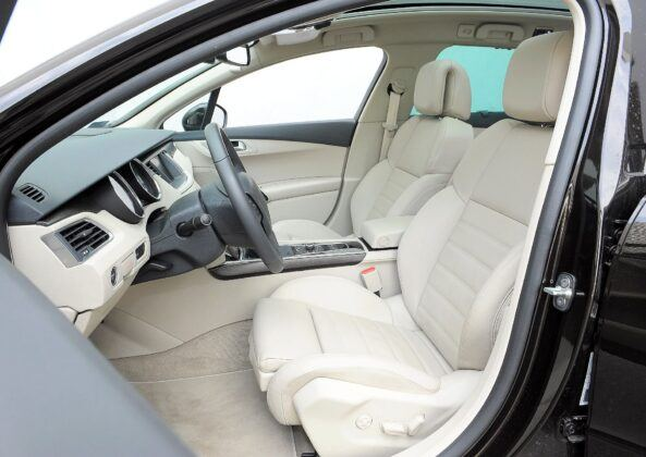 Peugeot 508 I fotel kierowcy
