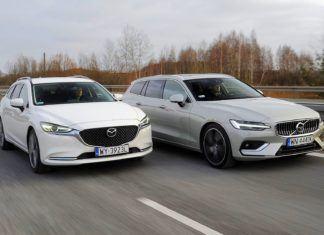 Mazda 6 kontra Volvo V60 - porównanie kombi klasy średniej