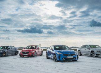 Mocna klasa średnia - wideoporównanie: Volkswagen Arteon, Alfa Romeo Giulia, Infiniti Q50, Kia Stinger
