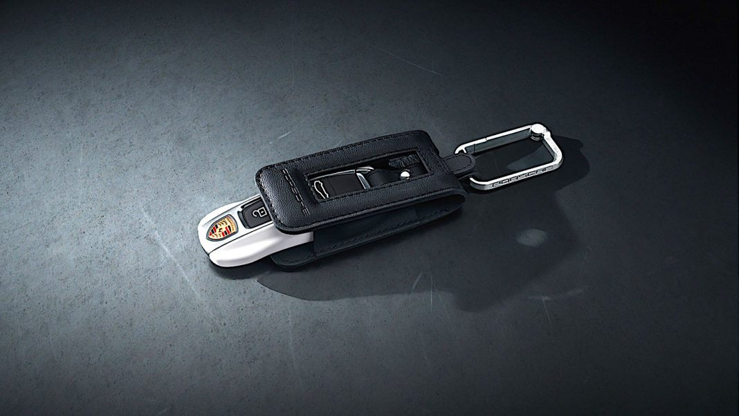 Porsche Panamera - kluczyk