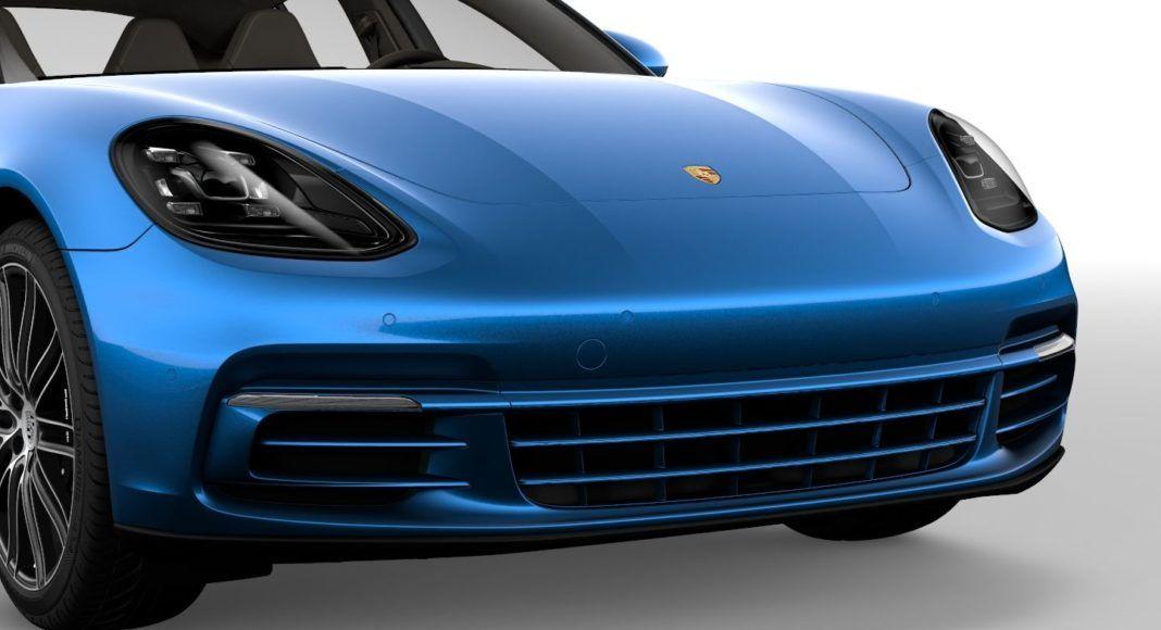 Porsche Panamera - zderzak
