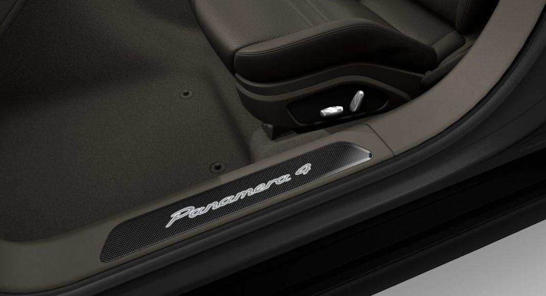 Porsche Panamera - nakładki progów