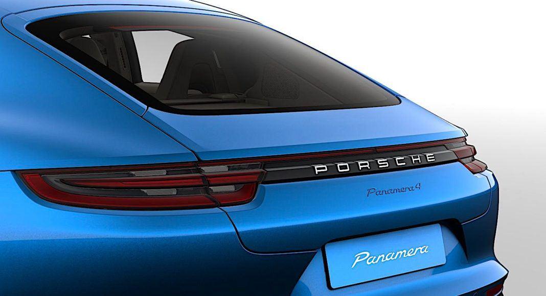 Porsche Panamera - oznaczenie modelu
