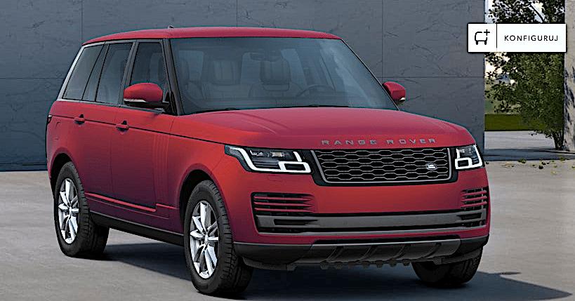 Range Rover - lakier