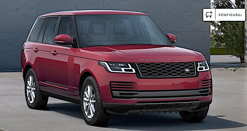 Range Rover lakier