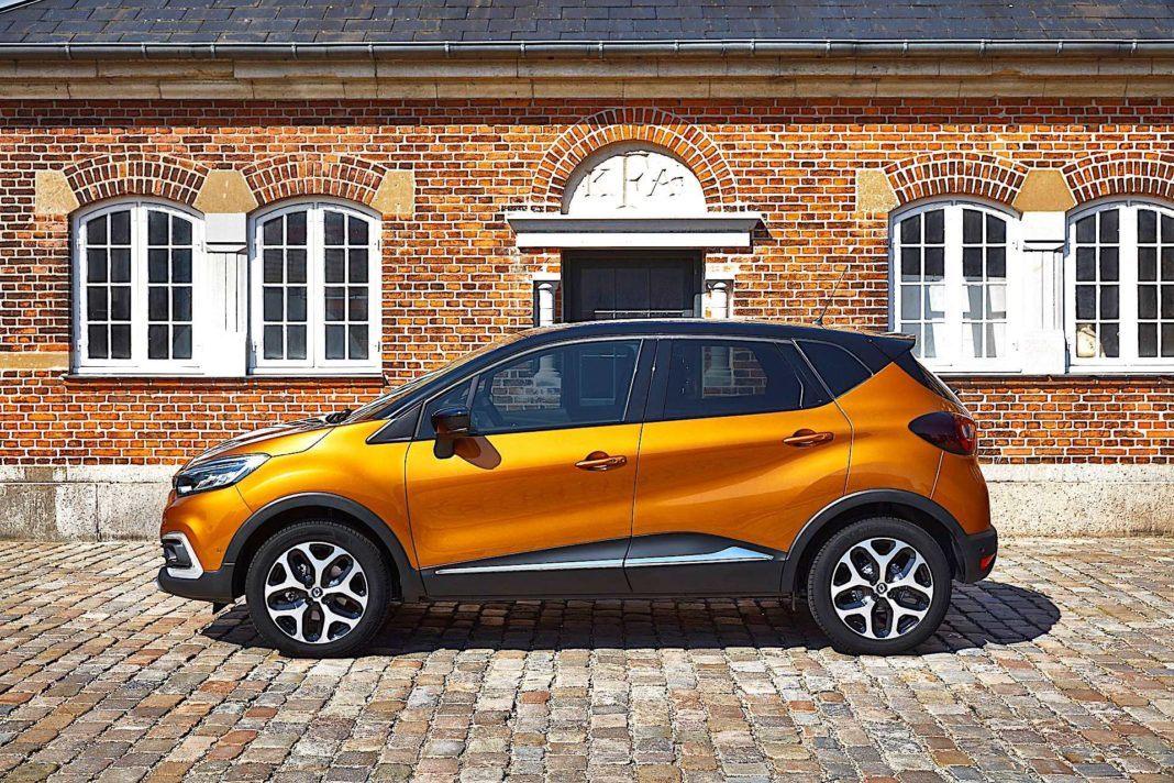 2017 Renault Captur - bok