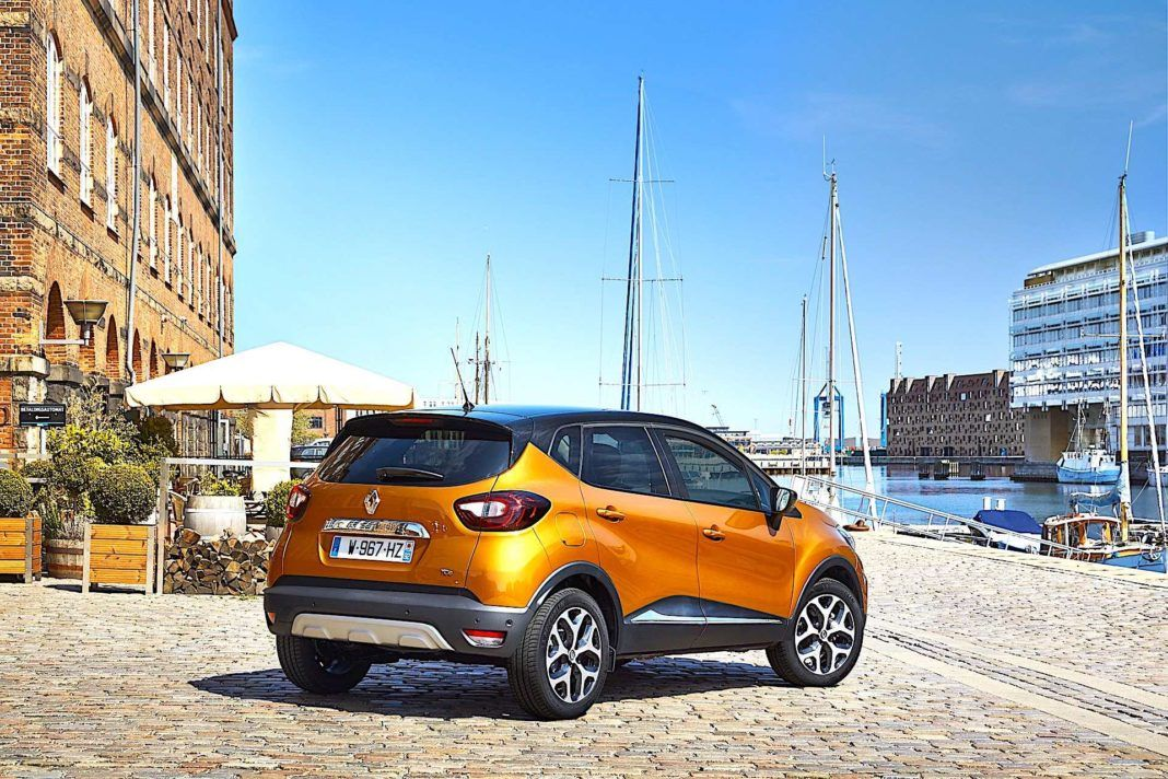 2017 Renault Captur - tył
