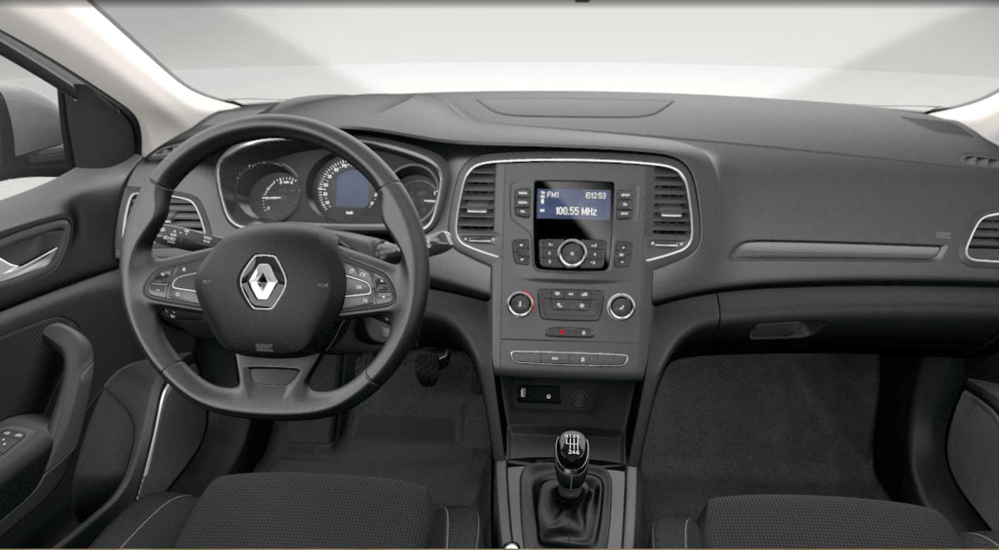Renault Megane - kokpit