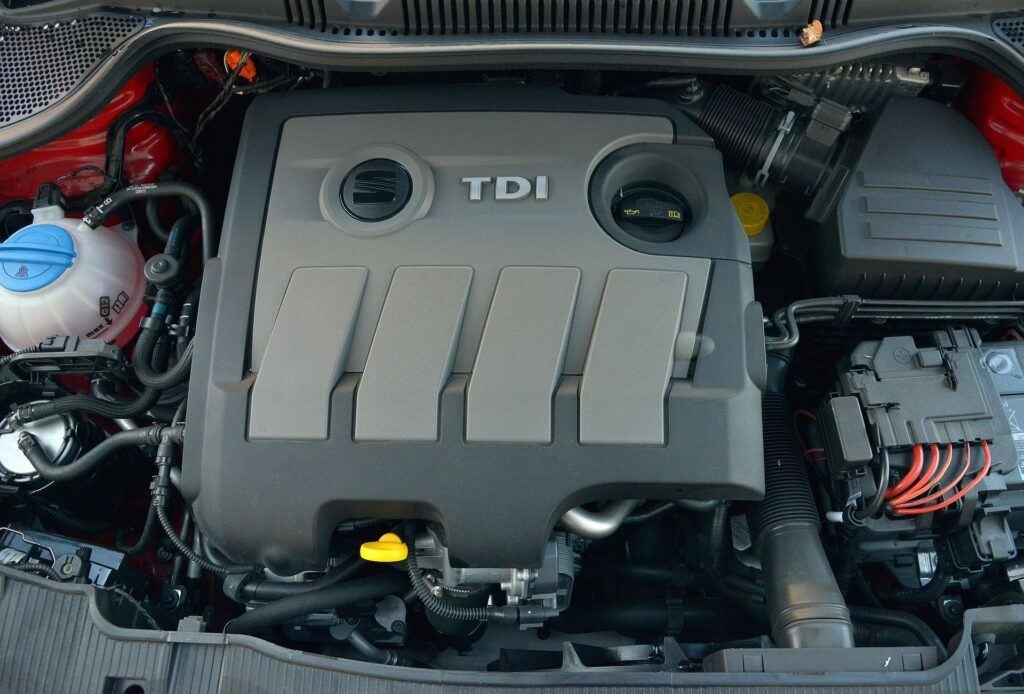 Seat Ibiza IV silnik
