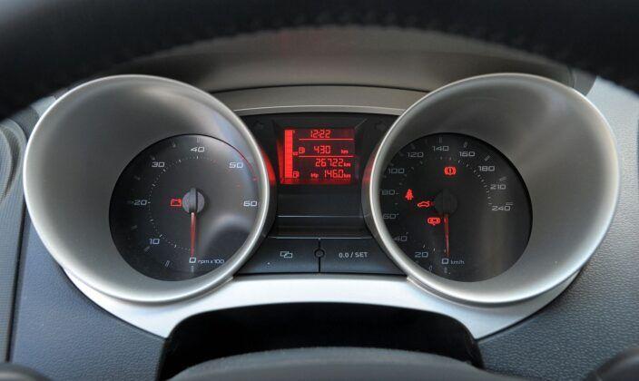 Seat Ibiza IV wskaźniki