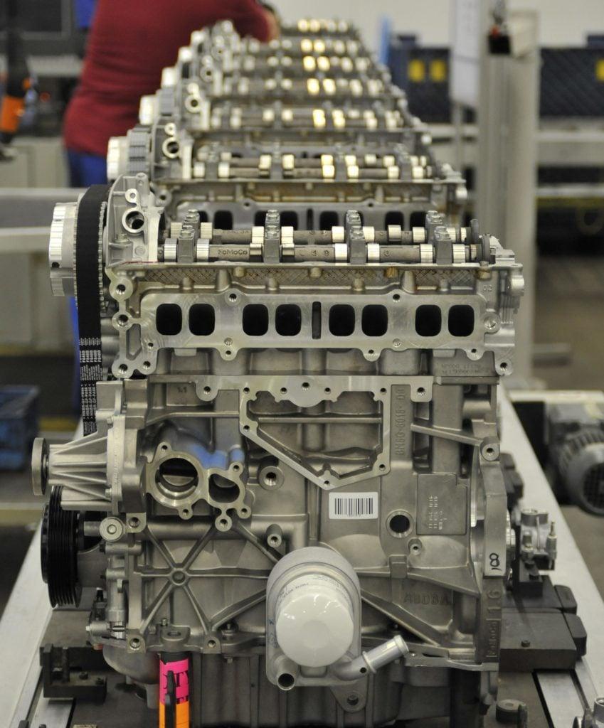 Silnik 1.6 EcoBoost - spalanie