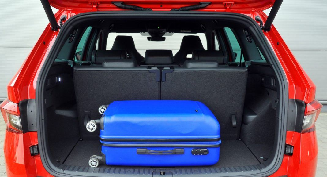 Skoda Kodiaq RS - bagażnik