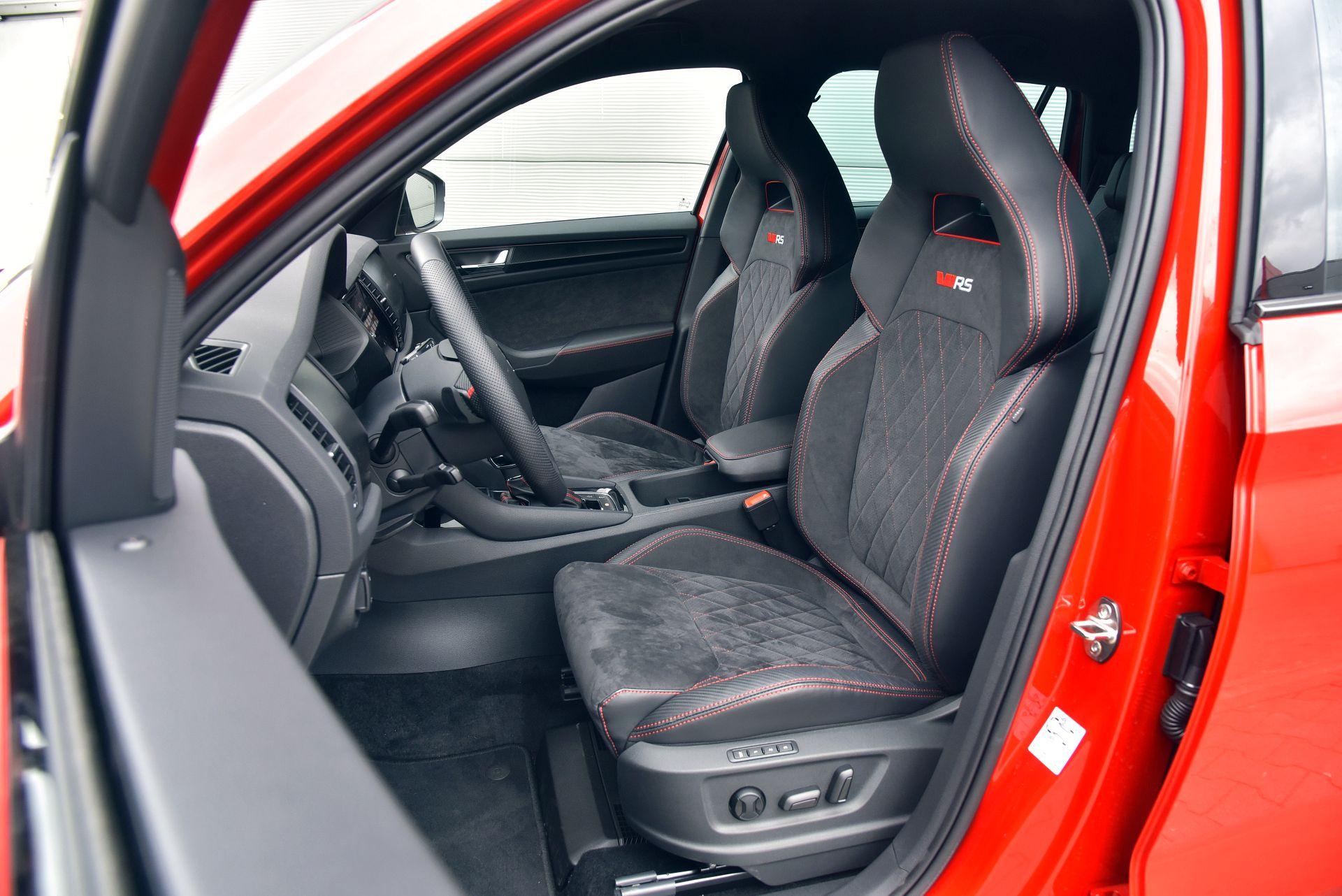 Skoda Kodiaq RS - fotel kierowcy