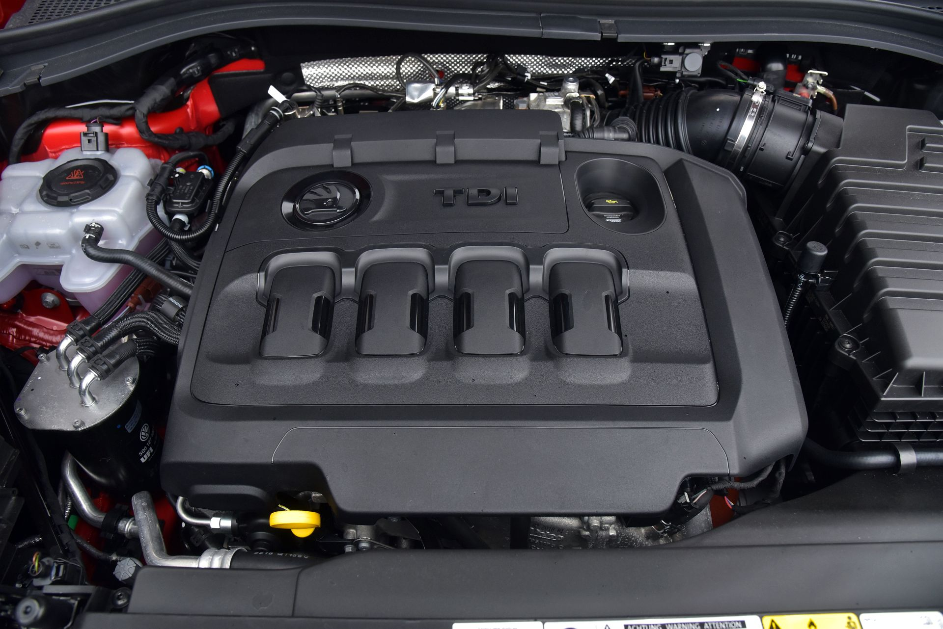 Skoda Kodiaq RS - silnik
