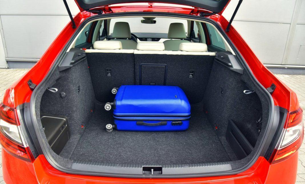 Skoda Octavia 1.0 TSI DSG - bagażnik