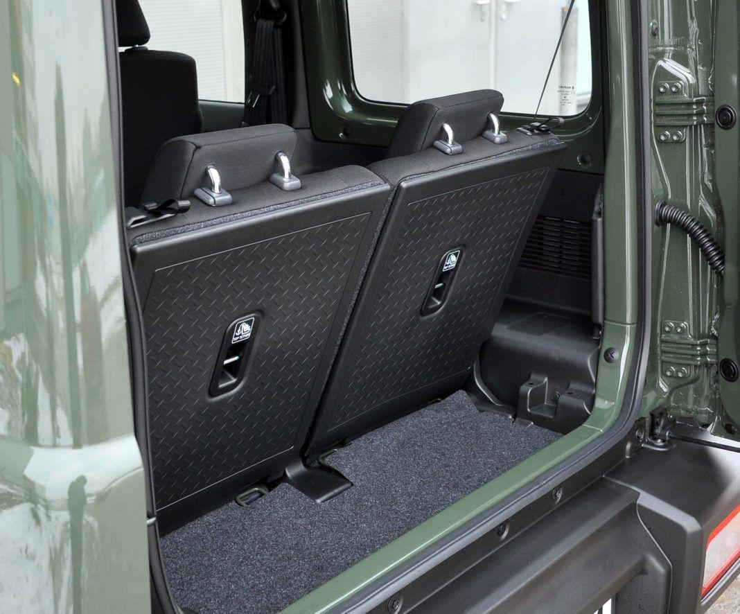 Suzuki Jimny - bagażnik