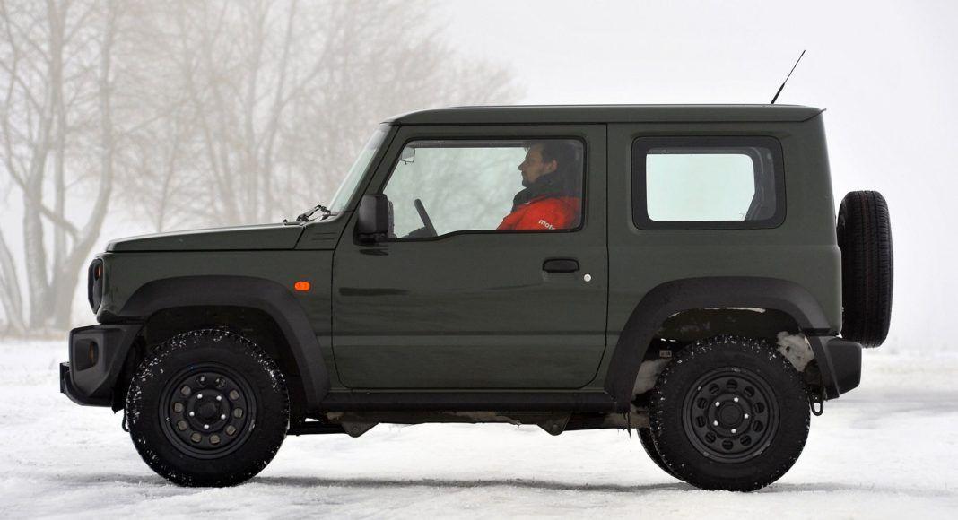 Suzuki Jimny - bok