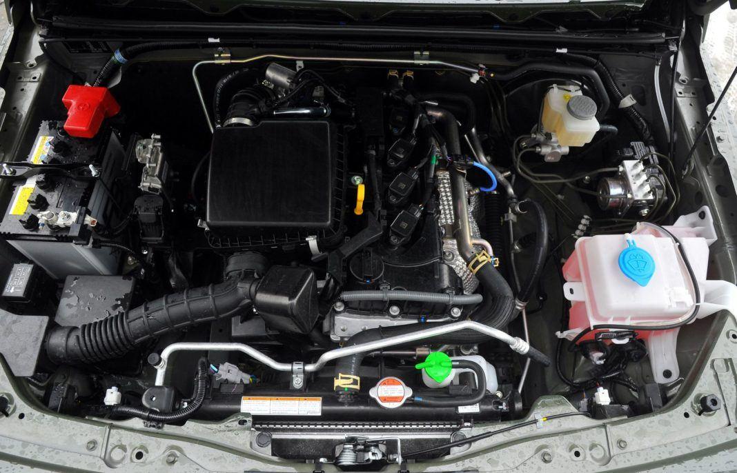 Suzuki Jimny - silnik