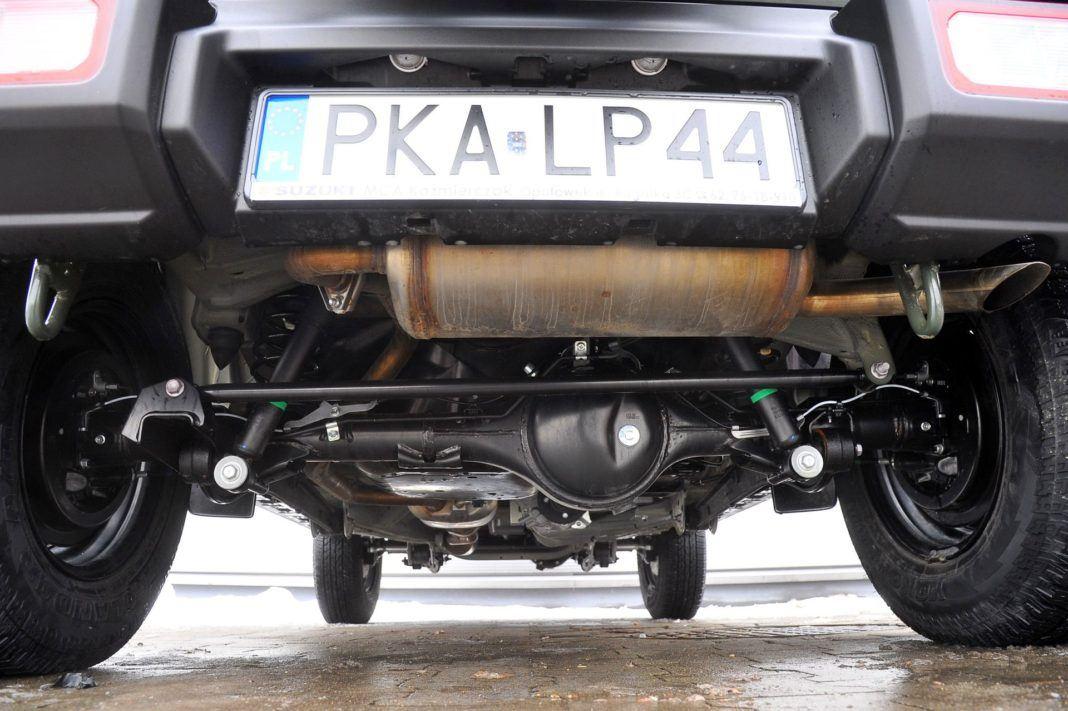 Suzuki Jimny - spód
