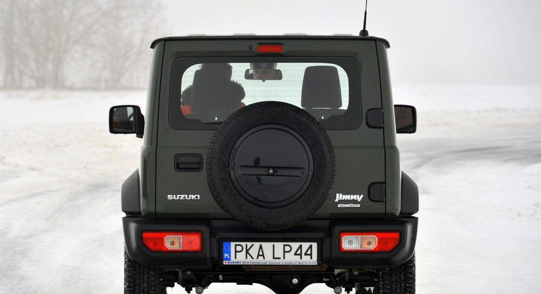 Suzuki Jimny - tył
