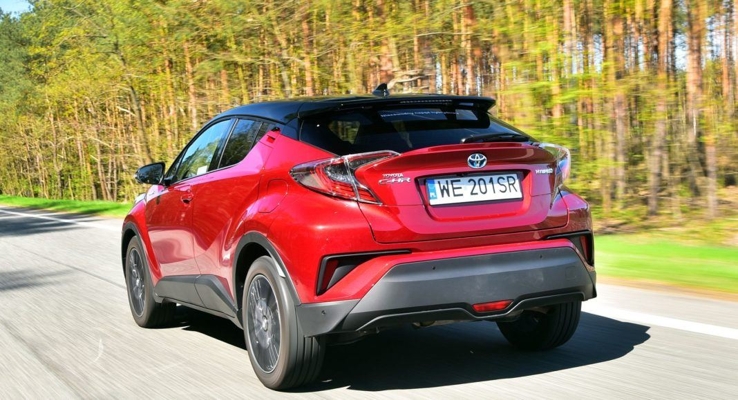 Toyota C-HR Hybrid Selection