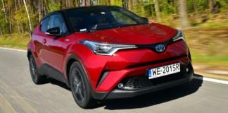 Toyota C-HR Hybrid - otwierające