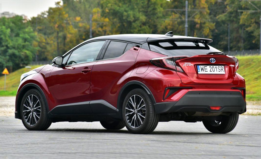 Toyota C-HR Hybrid - tył