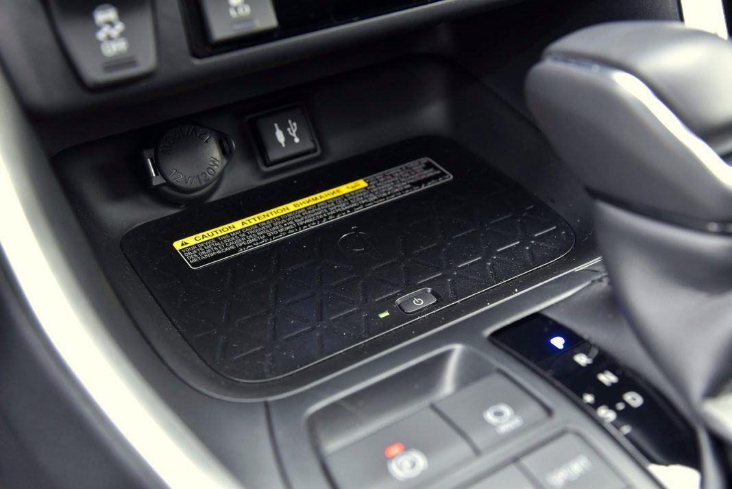 Toyota RAV4 Hybrid - ładowarka