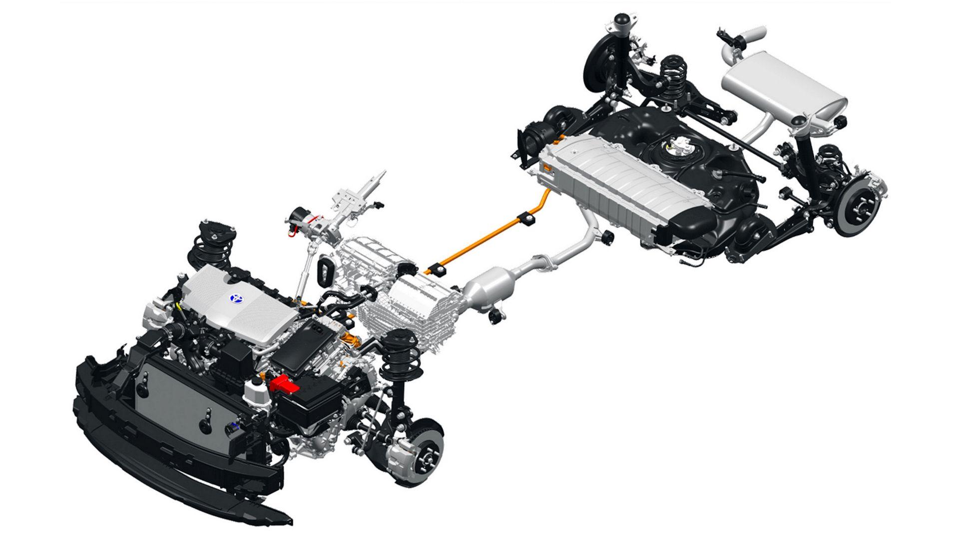 Toyota RAV4 Hybrid - napęd hybrydowy