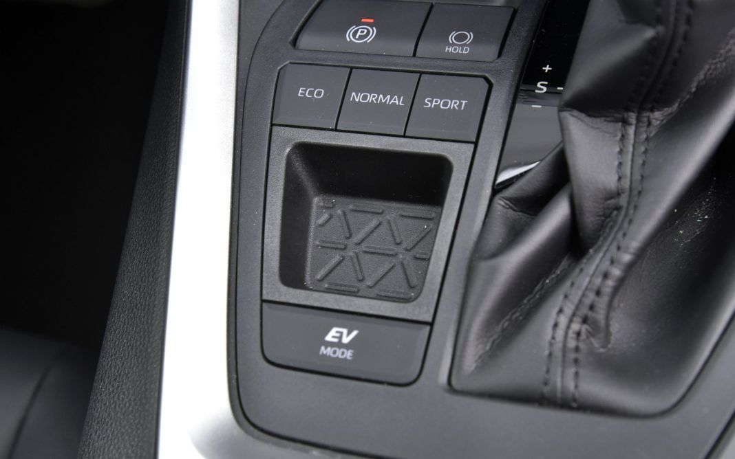 Toyota RAV4 Hybrid - przełączniki (2)