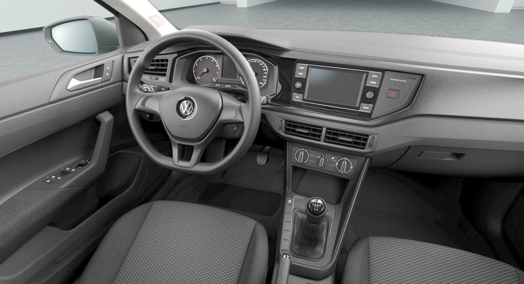 Volkswagen Polo - kokpit