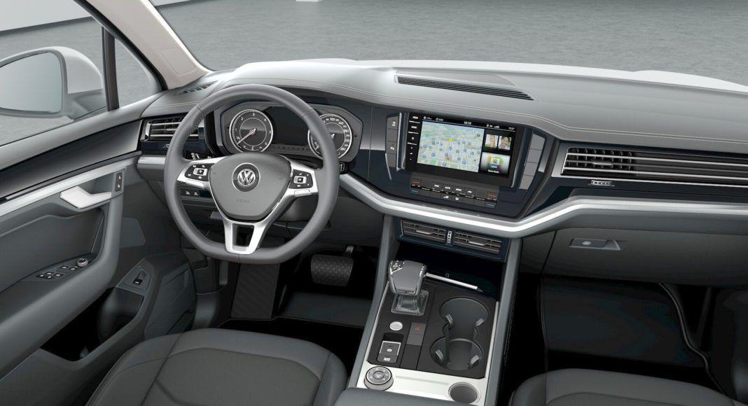 Volkswagen Touareg- kokpit