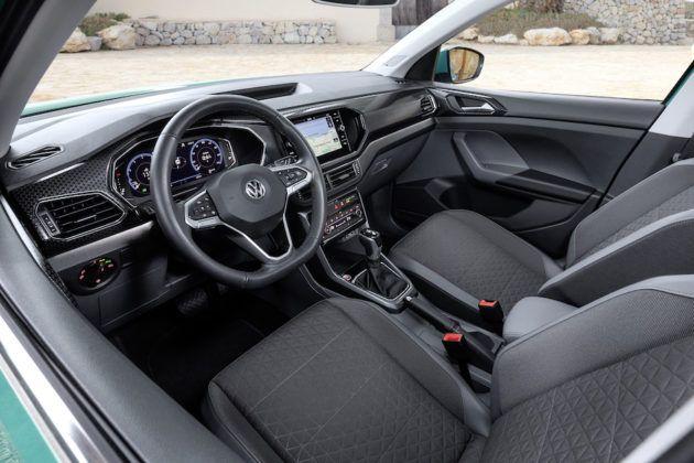 Volkswagen T-Cross - deska rozdzielcza