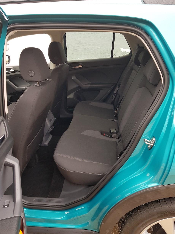 Volkswagen T-Cross - kanapa