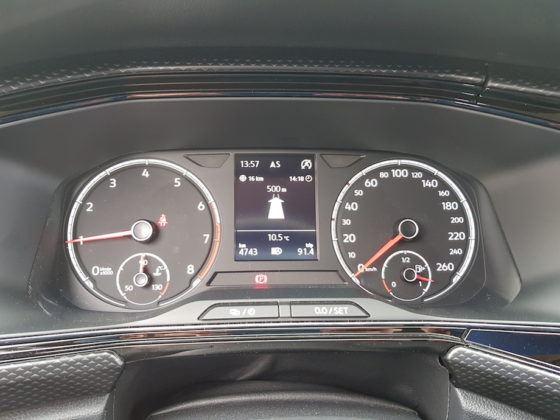 Volkswagen T-Cross - zegary
