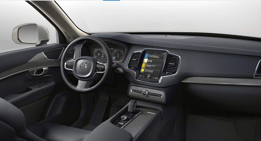 Volvo XC90 - kokpit