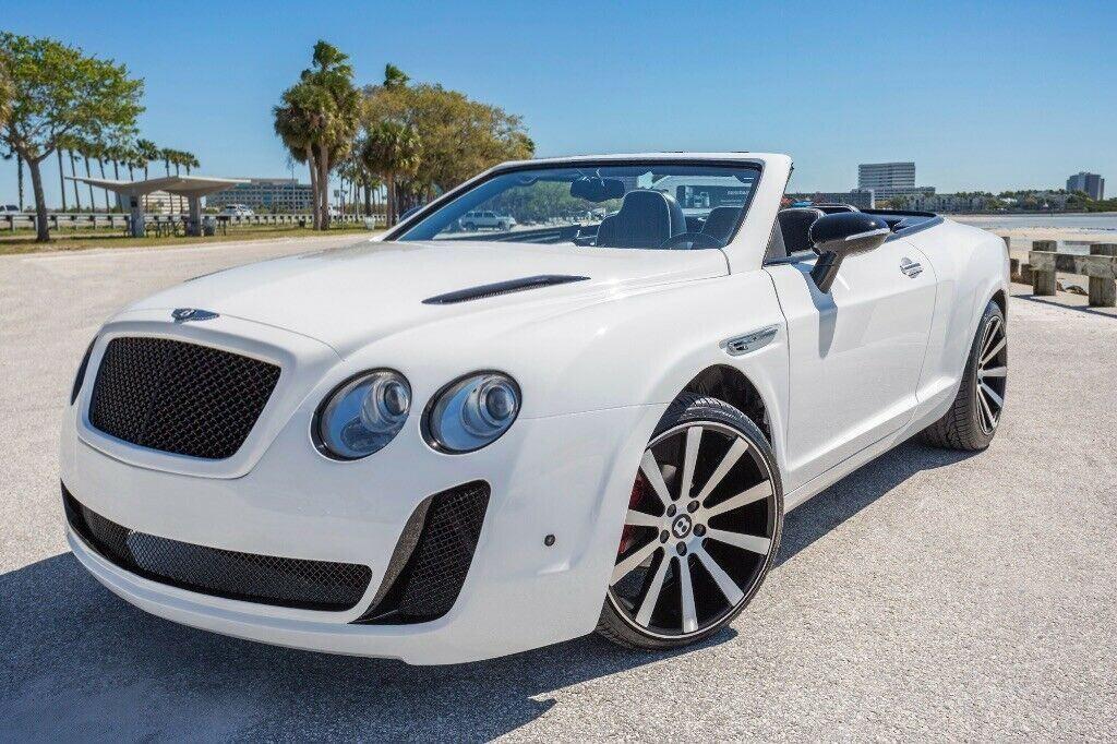 Replika Bentleya Continentala GTC na bazie Chryslera Sebringa, źródło: eBay
